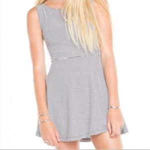 Striped Brandy melville skater dress